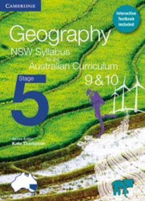 NSW Geography:  Stage 5 [Text + Interactive CambridgeGO]