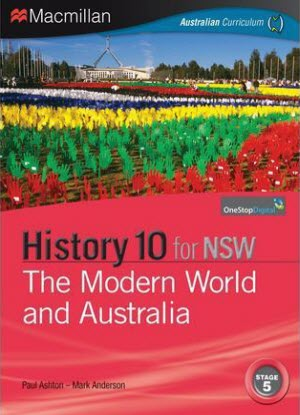 NSW Macmillan History:  10 - The Modern World and Australia [Text + Digital]