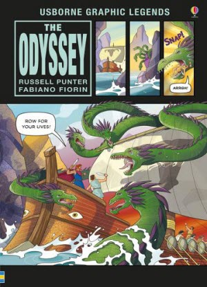 Usborne Graphic Legends:  The Odyssey