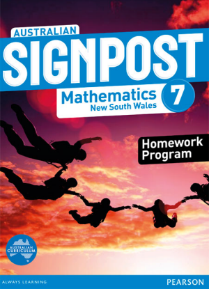 Australian Signpost Mathematics NSW:  7 [Homework Program]