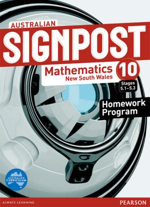 Australian Signpost Mathematics NSW: 10 Stages 5.1-5.3 [Homework Program]