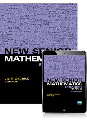 New Senior Mathematics:  Extension 2 Course for Year 12 [Student Book + eBook]
