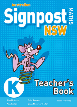 Australian Signpost Maths NSW:   Kindergarten - Teachers Book