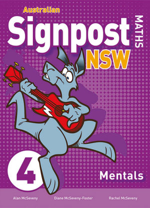 Australian Signpost Maths NSW:  4 [Mentals Book]