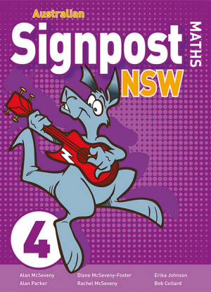 Australian Signpost Maths NSW:  4 [Student Activity Book]