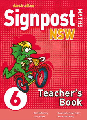 Australian Signpost Maths NSW:  6 [Teachers Book]