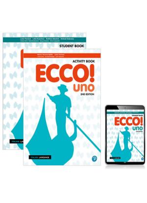 Ecco! Uno [Student Book + eBook + Activity Book]