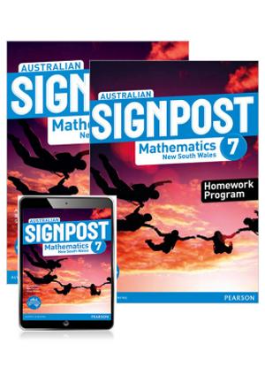 Australian Signpost Mathematics NSW:  7 [Student Book + eBook + Homework Program]