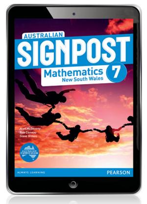 Australian Signpost Mathematics NSW:  7 [eBook Only]
