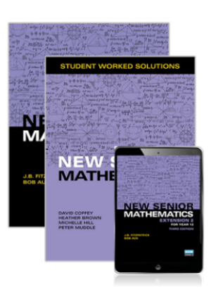 New Senior Mathematics:  Extension 2 Course for Year 12 - Combination Pack [Student Book + eBook + Student Worked Solutions Book]