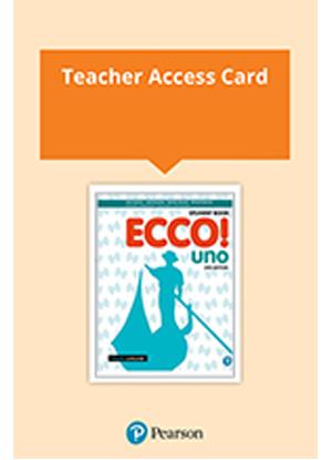 Ecco! Uno [Teacher Reader+ with Audio Download]