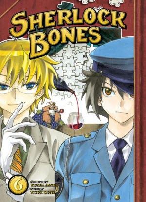 Sherlock Bones:  6