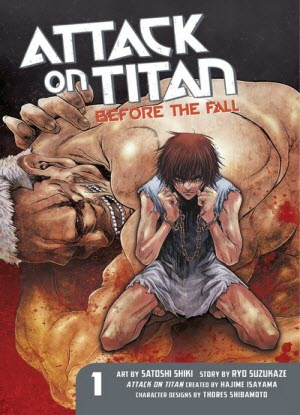 Attack on Titan before the Fall:  1