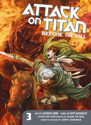Attack on Titan before the Fall:  3