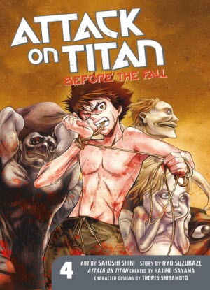 Attack on Titan before the Fall:  4