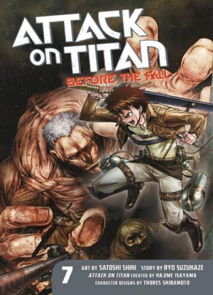 Attack on Titan before the Fall:  7