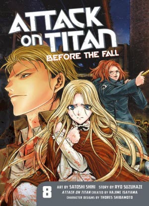 Attack on Titan before the Fall:  8