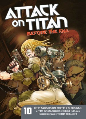 Attack on Titan before the Fall: 10