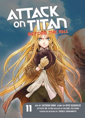 Attack on Titan before the Fall: 11