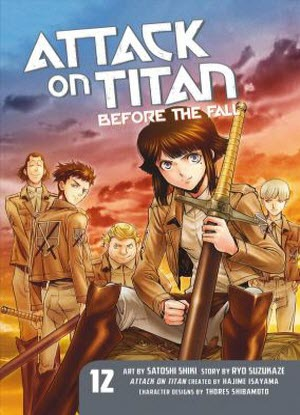 Attack on Titan before the Fall: 12