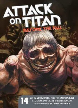 Attack on Titan before the Fall: 14