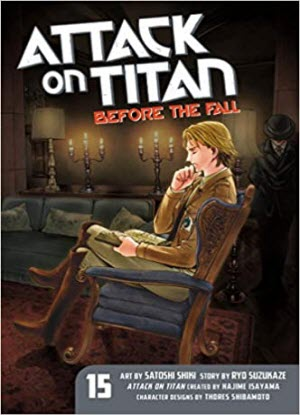 Attack on Titan before the Fall: 15