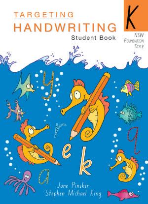 NSW Targeting Handwriting:  Kindergarten [Student Book]