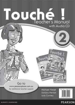 Touche!  2 [Teacher's Manual + Audio CD]