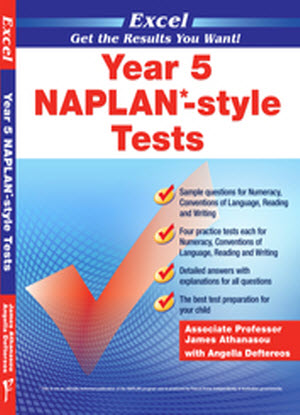 Excel Naplan*-Style Tests:  Year 5
