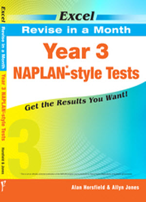 Excel Revise in a Month:  Year 3 - Naplan-Style Tests