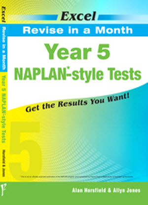 Excel Revise in a Month:  Year 5 - Naplan-Style Tests