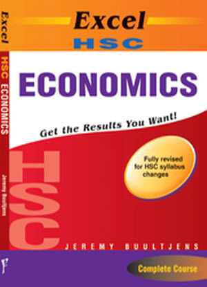 Excel Study Guide:  HSC Economics [Text + 90 Study Cards]