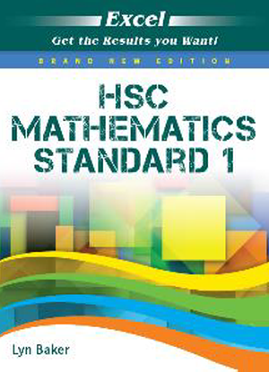 Excel Study Guide:  Year 12 Mathematics Standard 1