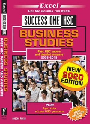Success One:  HSC Business Studies - 2020