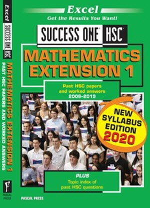 Success One:  HSC Mathematics Extension 1 - 2020