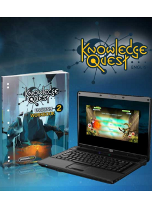 Knowledge Quest English:  2 [Workbook + Online Game]