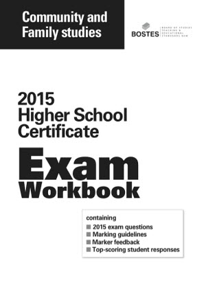 2015 HSC Exam Workbook:  Community & Family Studies