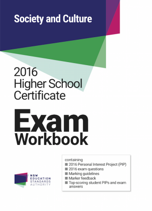 2016 HSC Exam Workbook:  Society and Culture
