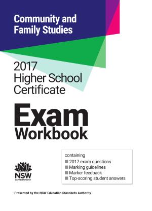 2017 HSC Community and Family Studies Exam Workbook