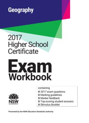 2017 HSC Exam Workbook:  Geography