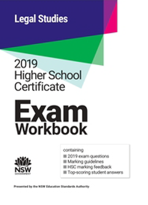 2019 HSC Exam Workbook:  Legal Studies