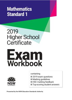 2019 HSC Exam Workbook:  Mathematics Standard 1