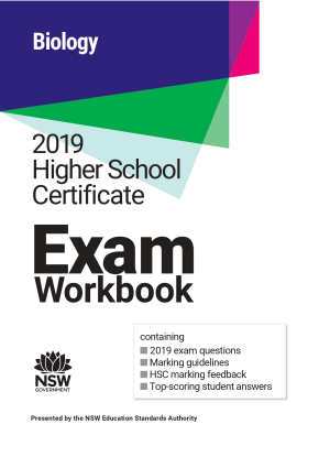 2019 HSC Exam Workbook:  Biology