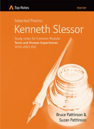 Top Notes:  Selected Poems - Kenneth Slessor