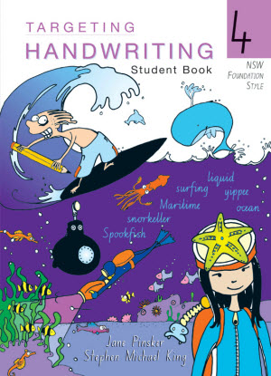 NSW Targeting Handwriting:  4 [Student Book]
