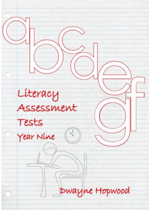 Literacy Assessment Tests:  Year 9