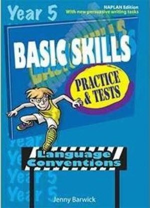 Basic Skills Practice and Tests:  Year 5 - Language Conventions