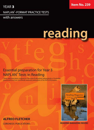 Naplan-Format Practice Tests with Answers:  Year 3 - Reading