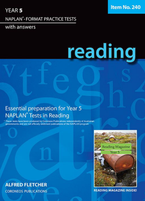 Naplan-Format Practice Tests with Answers:  Year 5 - Reading