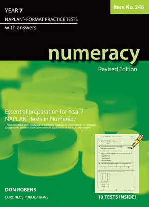 Naplan-Format Practice Tests with Answers:  Year 7 - Numeracy